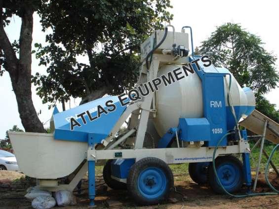 Mini concrete batching plant - small concrete mixer price