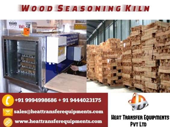 Wood seasoning kiln