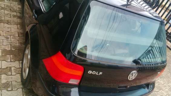 Golf 4 2000 auto black