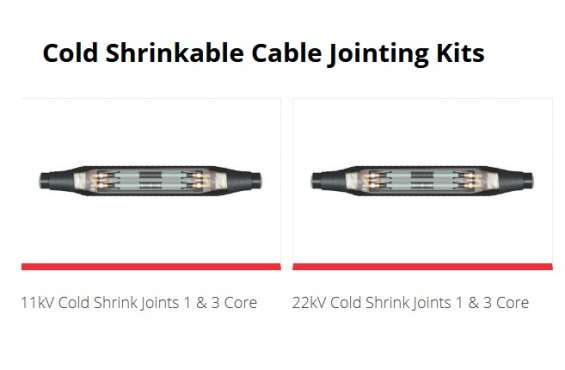 Cold shrinkable cable jointing kits