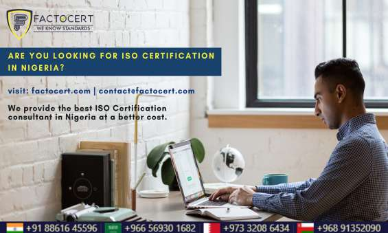 Iso certification in nigeria